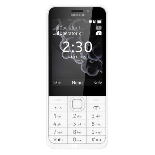 Telefon NOKIA 230 Dual SIM Srebrny