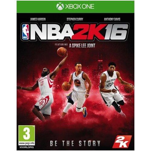 NBA 2K16 Gra XBOX ONE (Kompatybilna z Xbox Series X)