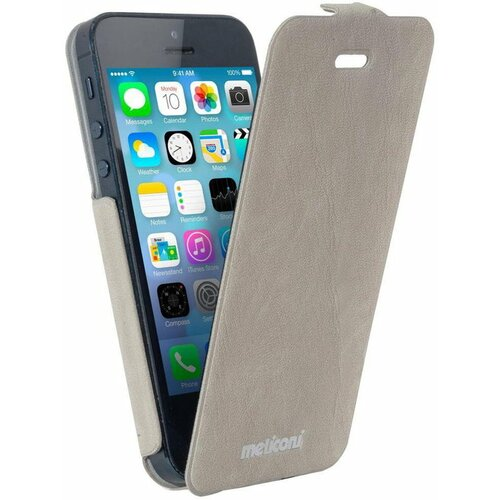 Etui MELICONI Slim Flap do Apple iPhone 5/5S Beżowy