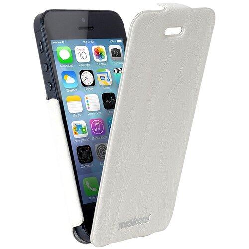 Etui MELICONI Slim Flap do Apple iPhone 5/5S Biały