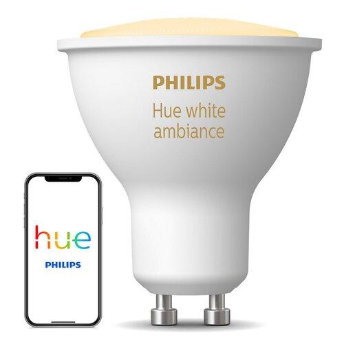 Inteligentna żarówka LED PHILIPS HUE 8718696598283 White Ambiance 5W GU10