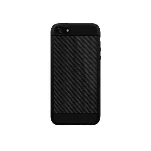 Etui HAMA Real Carbon do Apple iPhone 5/5S/SE Czarny