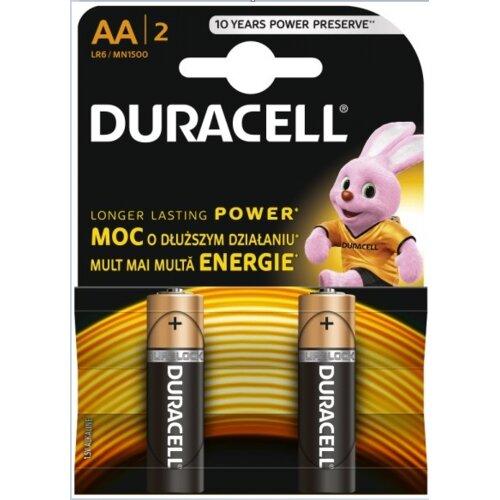 Baterie AA LR6 DURACELL Basic (2 szt.)