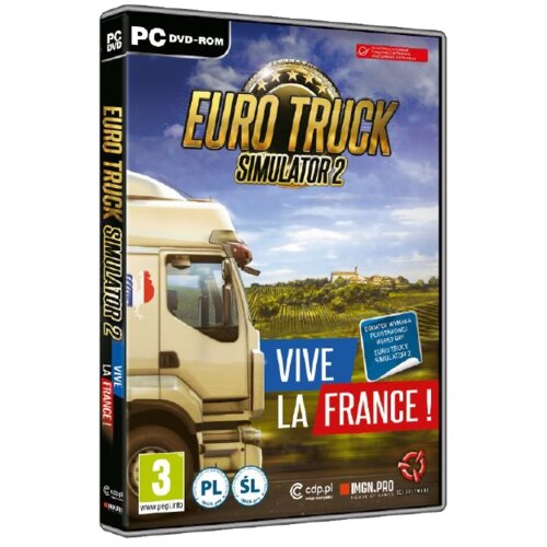 Euro Truck Simulator 2: Francja Gra PC