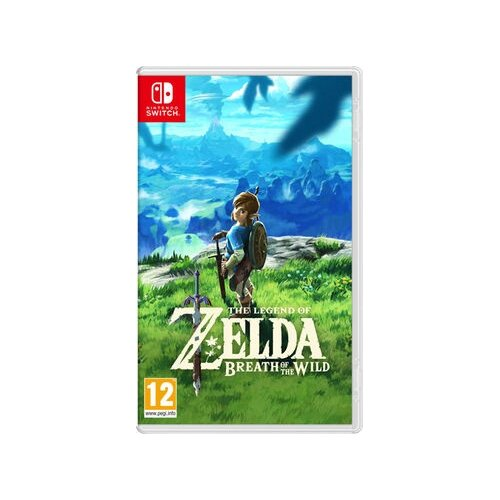 The Legend of Zelda: Breath of the Wild Gra NINTENDO SWITCH
