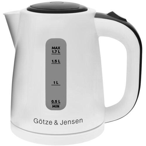 Czajnik GÖTZE & JENSEN KT001E Biały 2200W pojemność 1,7L filtr