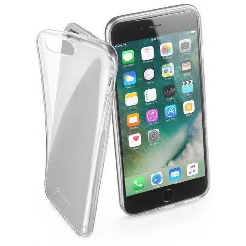 Etui CELLULAR LINE Fine do iPhone 7 Plus//8 Plus Przezroczysty