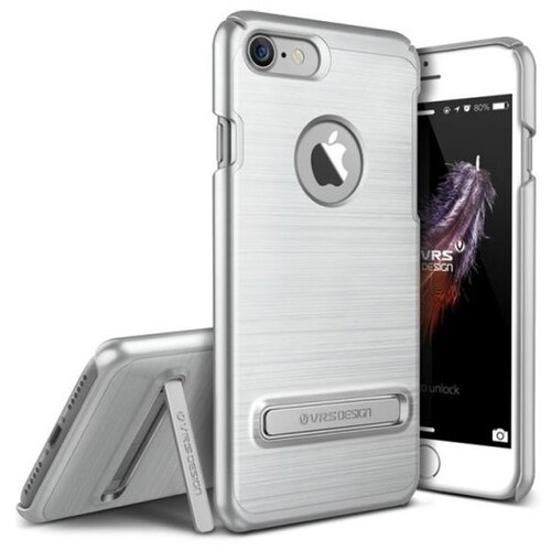 Etui VRS DESIGN Simpli Lite do Apple iPhone 7/8/SE 2020 Srebrny