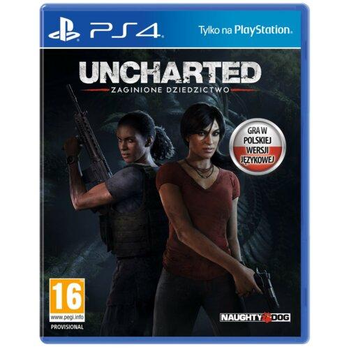 Uncharted: Zaginione Dziedzictwo Gra PS4 (Kompatybilna z PS5)