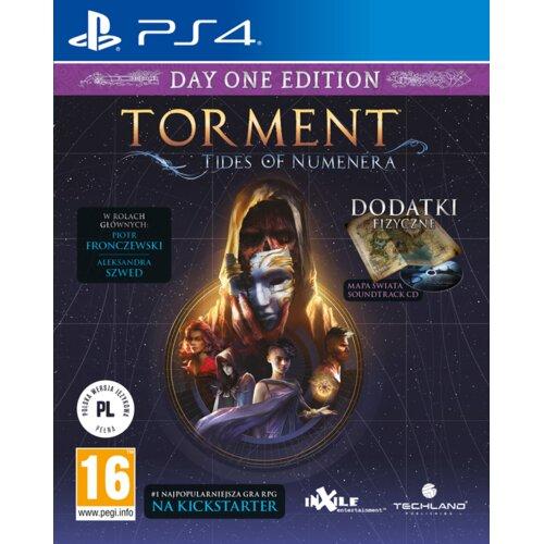 Torment: Tides of  Numenera - Edycja Day One Gra PS4 (Kompatybilna z PS5)
