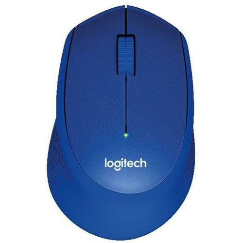 Mysz LOGITECH M330 Silent Plus Niebieski