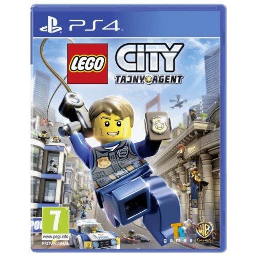 Lego City: Tajny Agent Gra PS4 (Kompatybilna z PS5)
