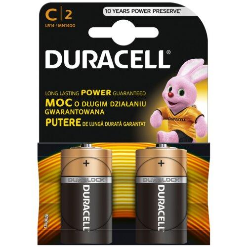 Baterie C LR14 DURACELL Basic (2 szt.)