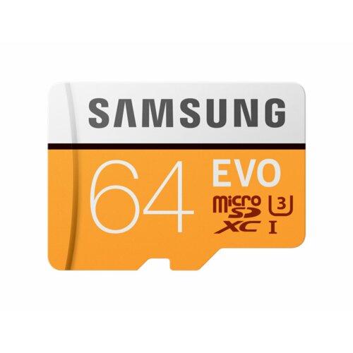 Karta pamięci SAMSUNG Evo microSDXC 64GB