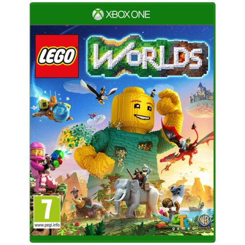 Lego Worlds Gra XBOX ONE (Kompatybilna z Xbox Series X)