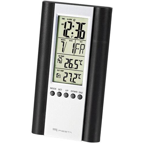 Stacja pogody FIESTA Przewodowa LCD Czarny