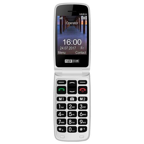 Telefon MAXCOM MM824BB Czerwony