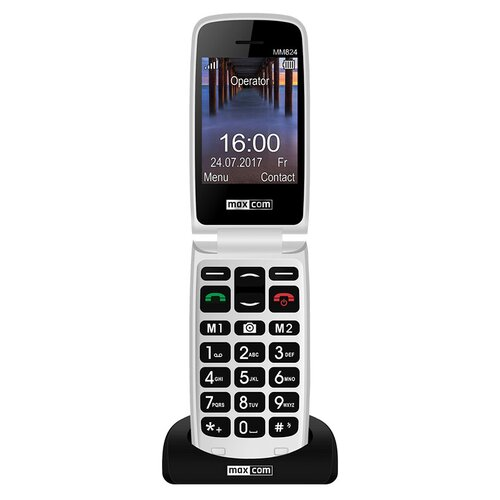 Telefon MAXCOM MM824BB Czarny