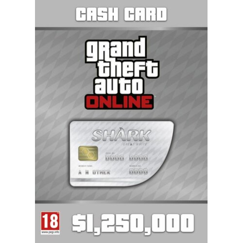 Gra PC Grand Theft Auto Online: Great White Shark Card (E-KOD)