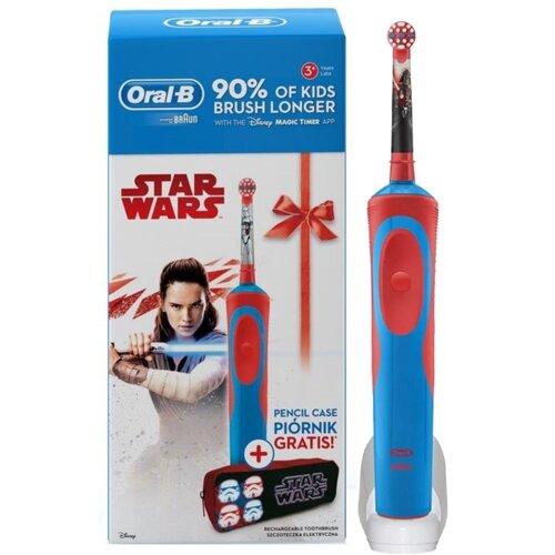 Szczoteczka rotacyjna ORAL-B Kids D12 Star Wars + Piórnik