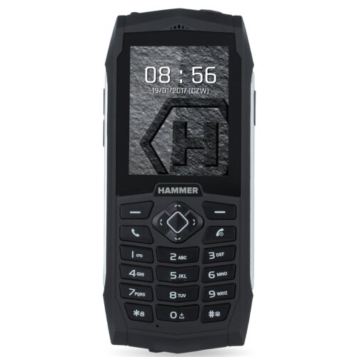 Telefon HAMMER 3 Srebrny