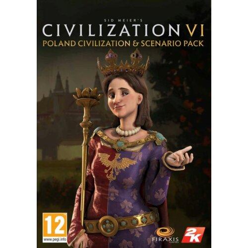 Kod aktywacyjny Gra PC Sid Meier's Civilization VI - Poland Civilization & Scenario Pack