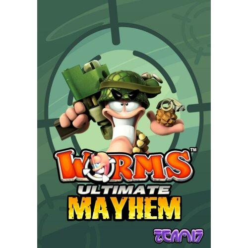 Kod aktywacyjny Gra PC Worms Ultimate Mayhem