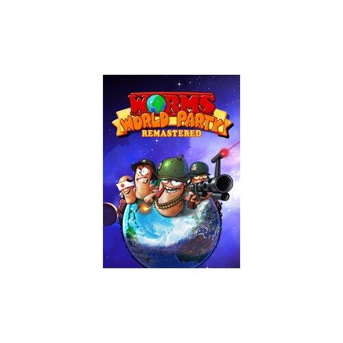 Kod aktywacyjny Gra PC Worms World Party Remastered