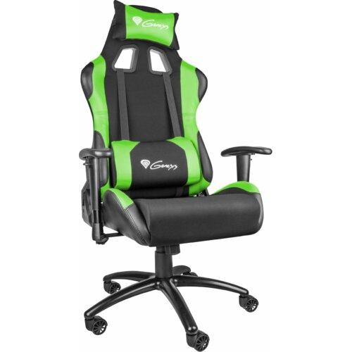 Fotel GENESIS Nitro 550 Czarno-zielony