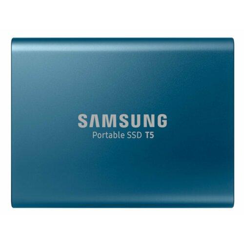 Dysk SAMSUNG Portable T5 500GB SSD Niebieski