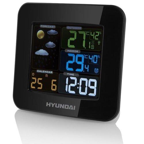 Stacja pogody HYUNDAI WS8446 Czarny