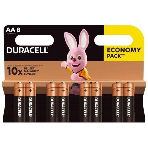 Baterie AA LR6 DURACELL Basic (8 szt.)