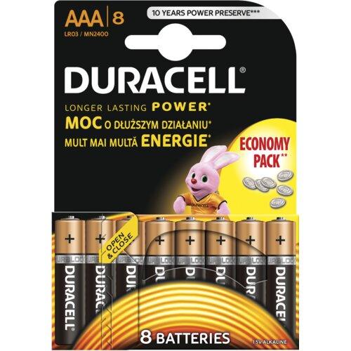 Baterie AAA LR03 DURACELL Basic (8 szt.)