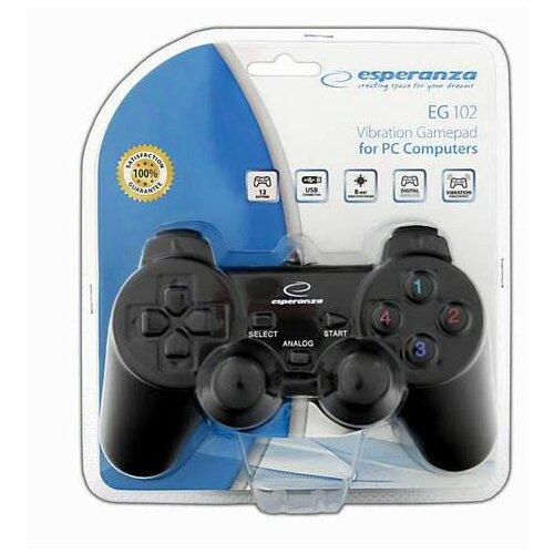Kontroler ESPERANZA Gamepad EG102  (PC/PS3)