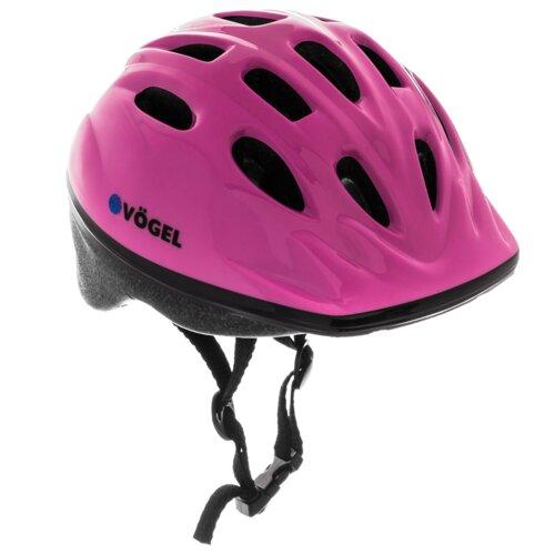 Kask rowerowy VÖGEL VKA-920G Różowy dla Dzieci (rozmiar XS)