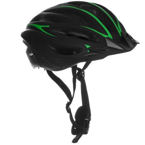 Kask rowerowy VÖGEL VKA-921M Czarno-zielony MTB (rozmiar L)