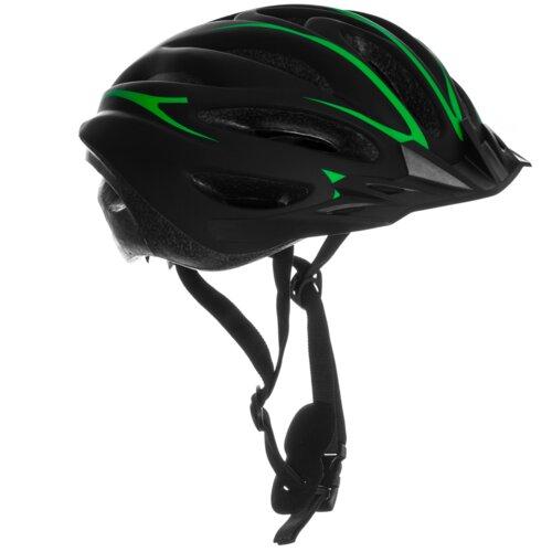 Kask rowerowy VÖGEL VKA-921M Czarno-zielony MTB (rozmiar M)
