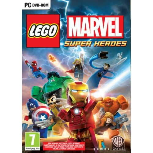 Kod aktywacyjny Gra PC Lego Marvel Super Heroes