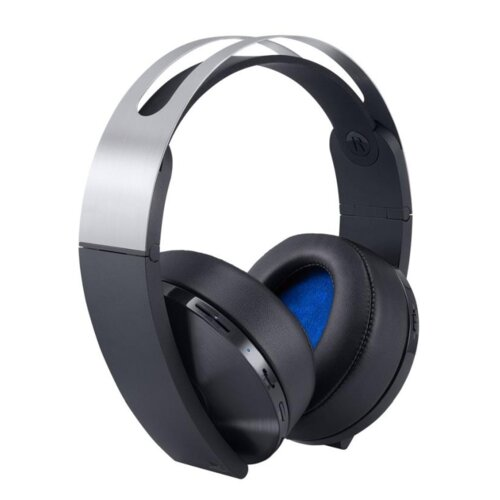 Słuchawki SONY Platinum Wireless Headset PS4 Czarno-srebrny