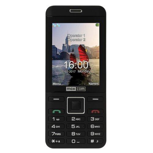 Telefon MAXCOM Classic MM236 Czarno-srebrny