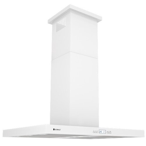 Okap GLOBALO Nomina Isola 90.4 Sensor Biały