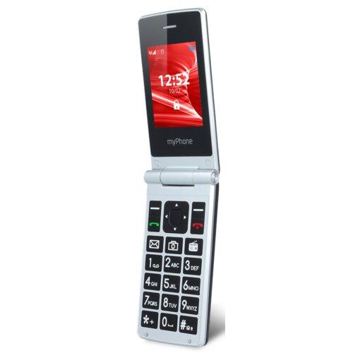 Telefon MYPHONE Tango Czarno-srebrny