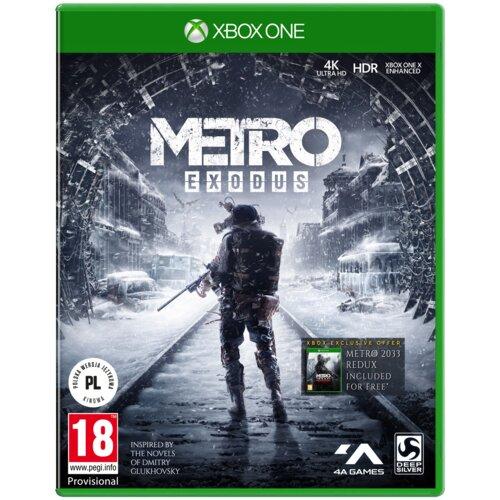 Metro Exodus Gra XBOX ONE (Kompatybilna z Xbox Series X)