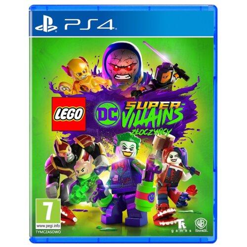 LEGO Super Złoczyńcy Gra PS4 (Kompatybilna z PS5)