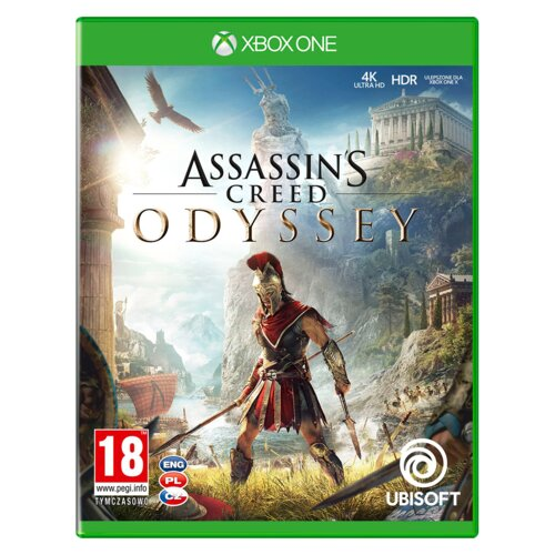 Assassin's Creed: Odyssey Gra XBOX ONE (Kompatybilna z Xbox Series X)