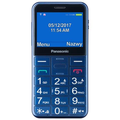 Telefon PANASONIC KX-TU150 Niebieski