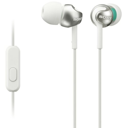 Słuchawki douszne SONY MDREX110APW.CE7 z mikrofonem Biały