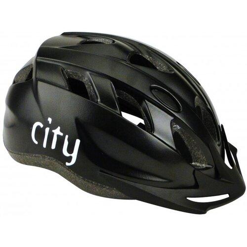 Kask rowerowy PROFEX City Czarny MTB (rozmiar S-M)